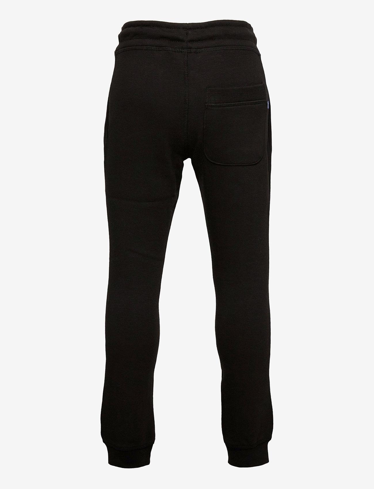 Jack & Jones - JJIGORDON JJSOFT SWEAT PANTS VG NOOS JR - verryttelyhousut - black - 1