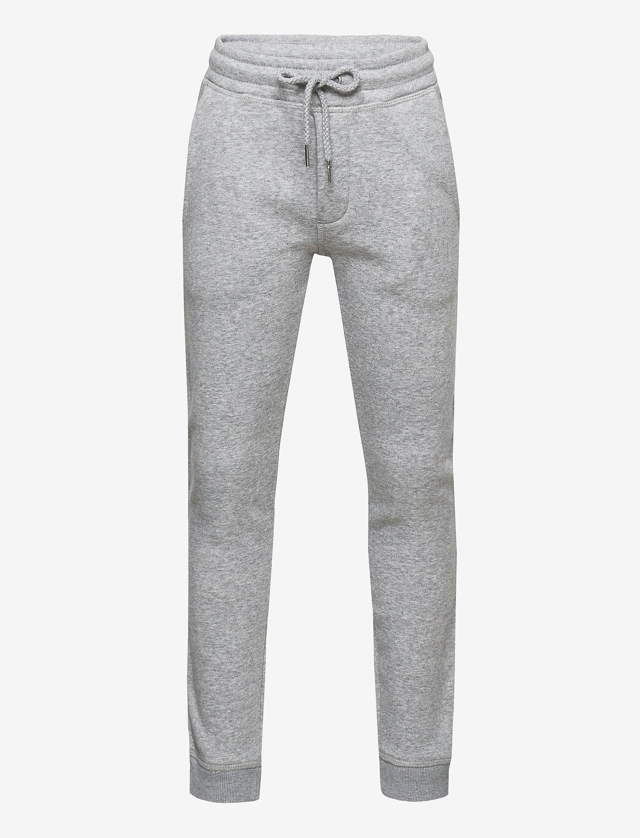 Jack & Jones - JJIGORDON JJSOFT SWEAT PANTS VG NOOS JR - verryttelyhousut - light grey melange - 0