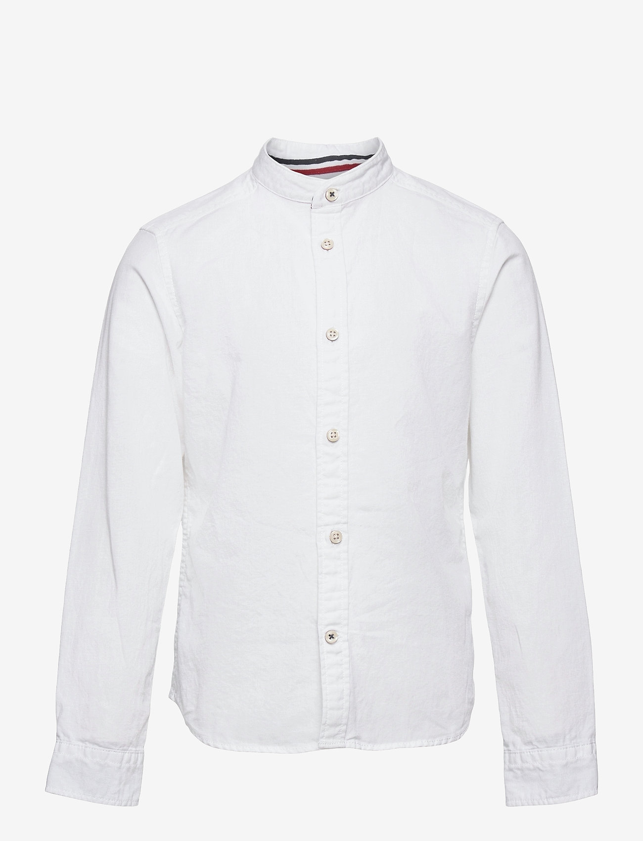 Jack & Jones - JJEBAND SUMMER SHIRT L/S JR - shirts - white - 0