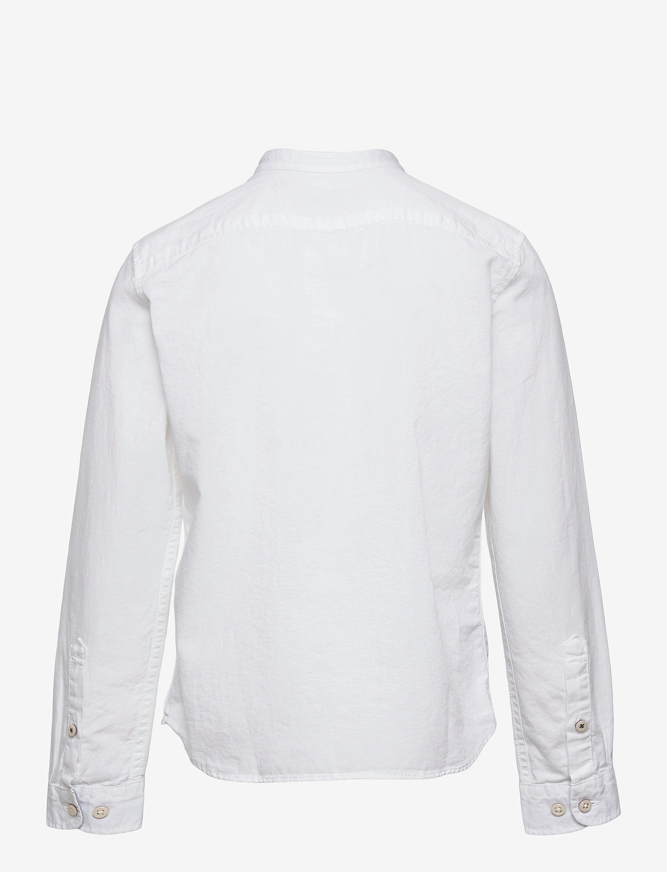 Jack & Jones - JJEBAND SUMMER SHIRT L/S JR - shirts - white - 1