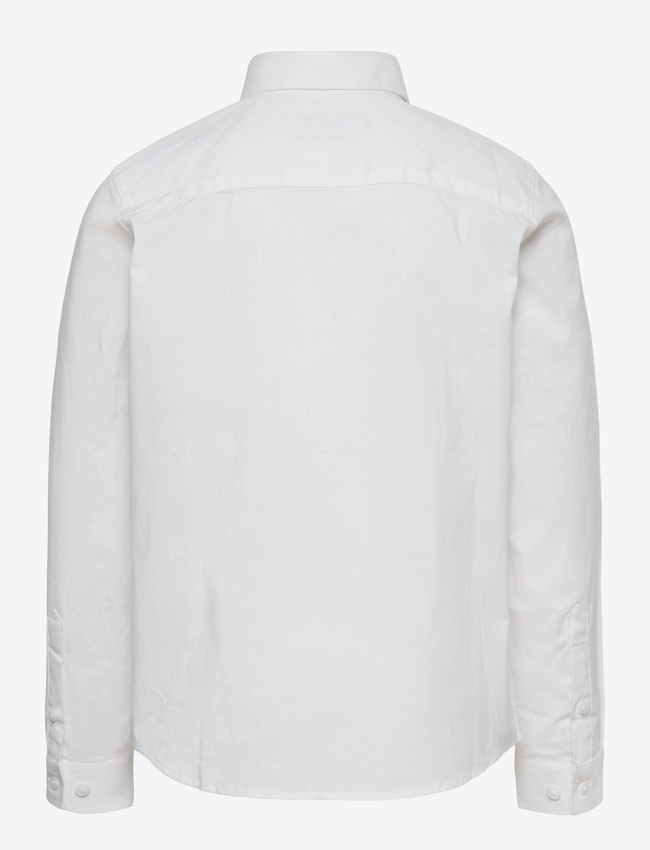 Jack & Jones - JJEMASON STRETCH SHIRT L/S ES21 JR - shirts - white - 1