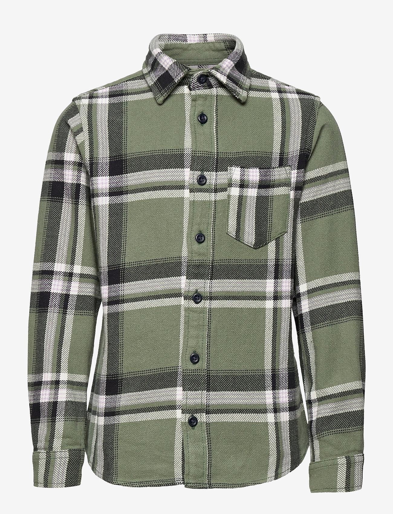Jack & Jones - JORFINDER SHIRT LS JR - shirts - sea spray - 0