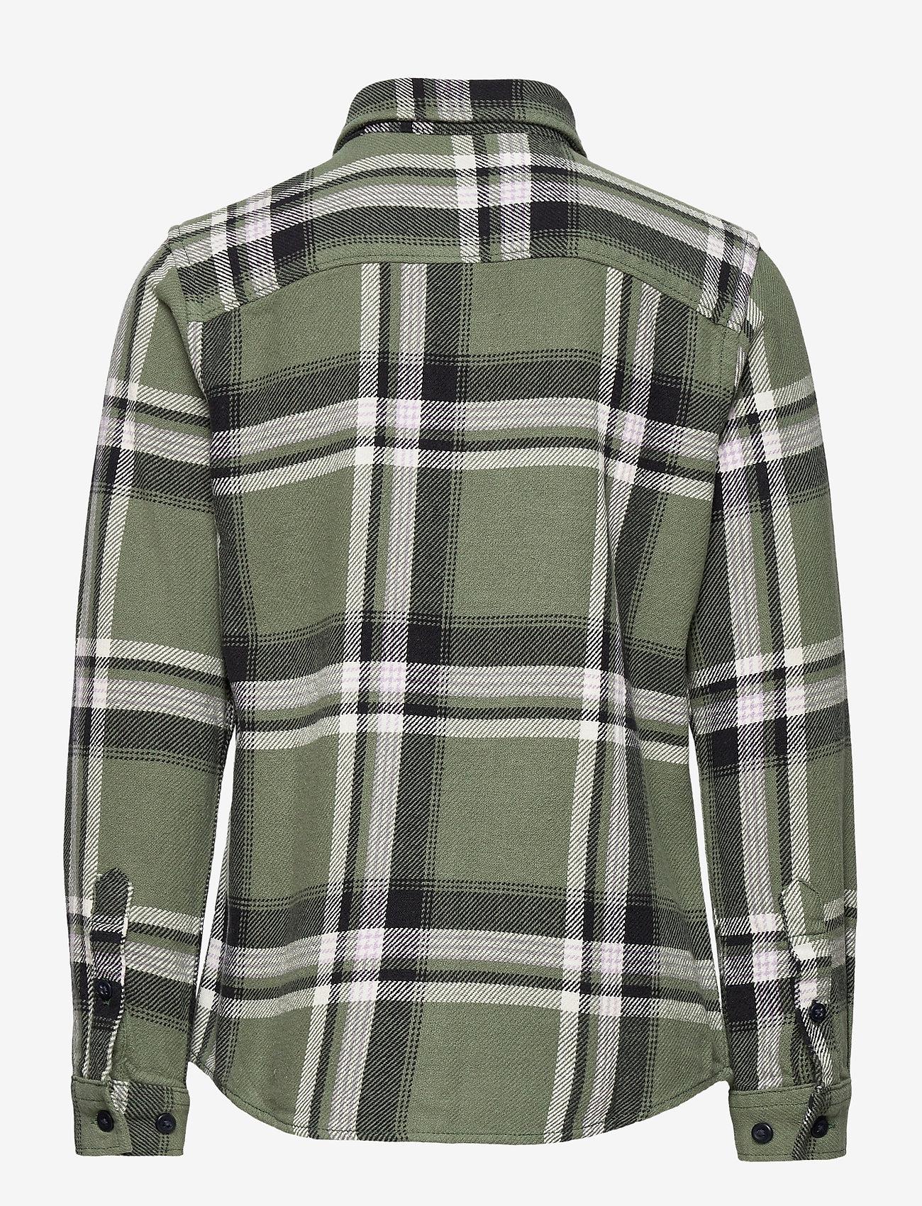 Jack & Jones - JORFINDER SHIRT LS JR - shirts - sea spray - 1