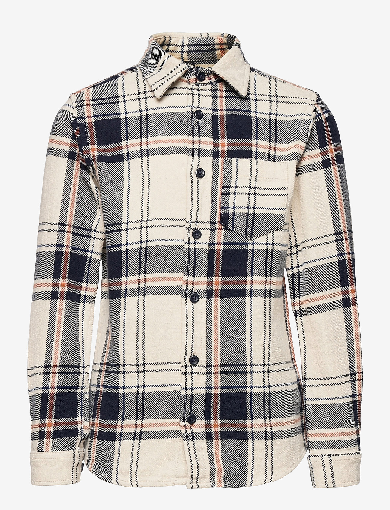 Jack & Jones - JORFINDER SHIRT LS JR - shirts - seedpearl - 0