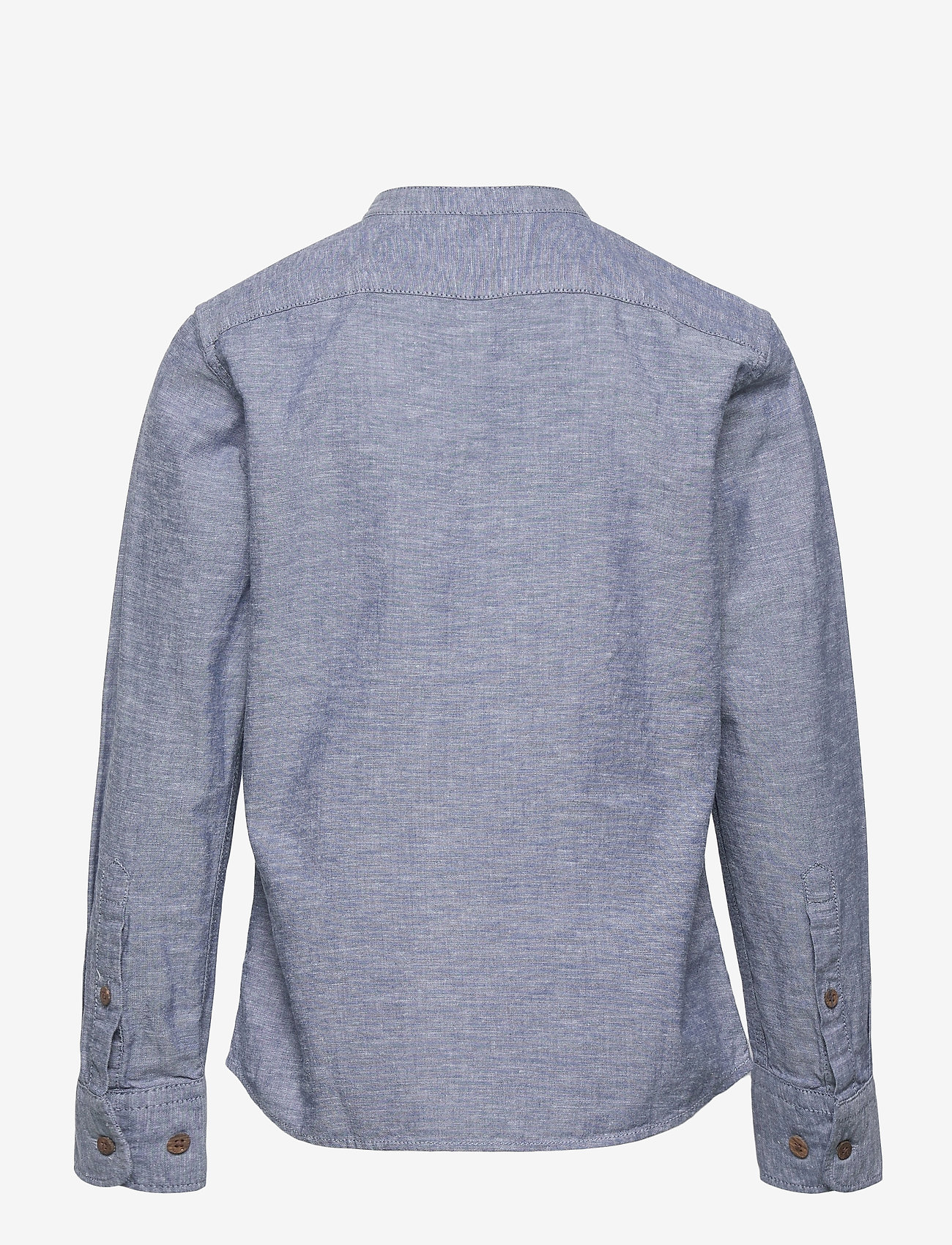 Jack & Jones - JPRBLASUMMER BAND TUNIC SHIRT L/S JR - shirts - faded denim - 1