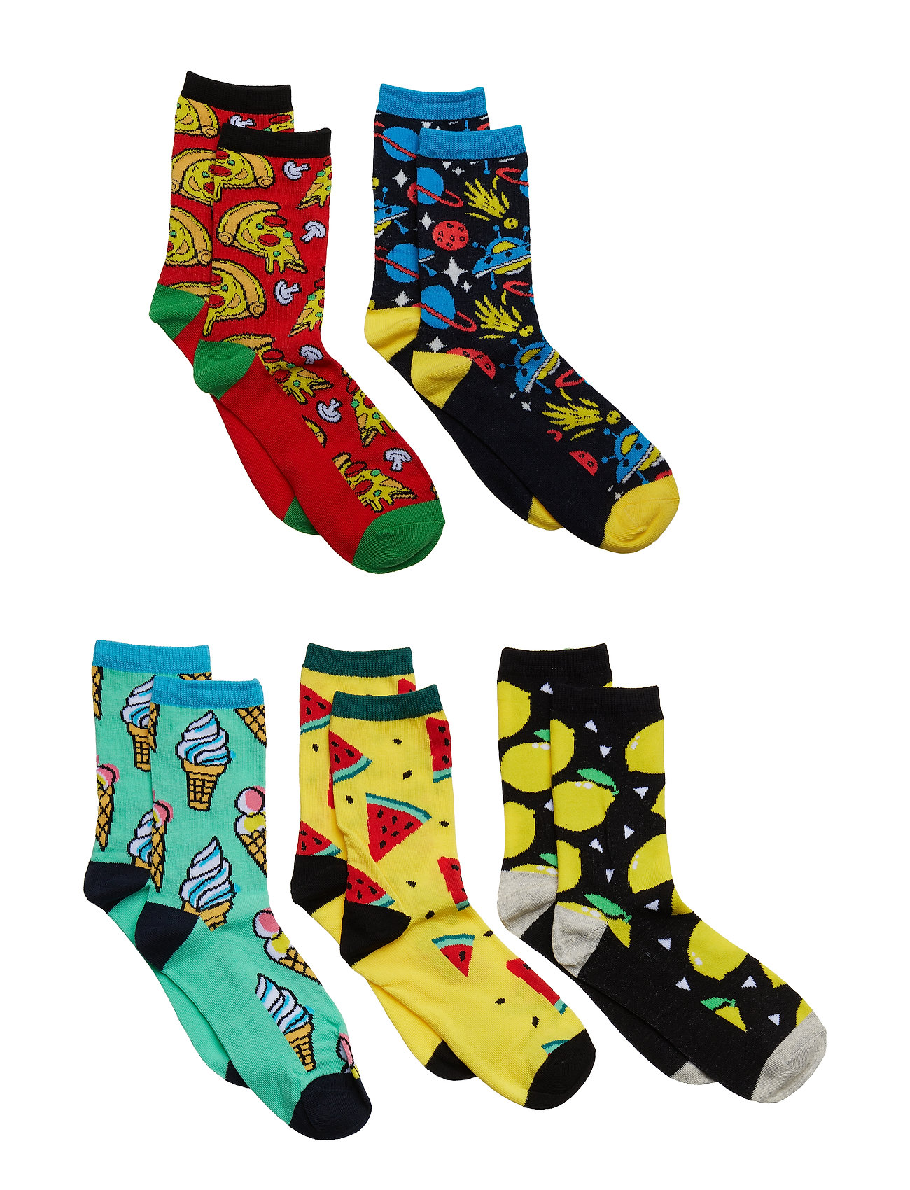 Image of Jaccrazy Socks 5 Pack Junior (3122948401)
