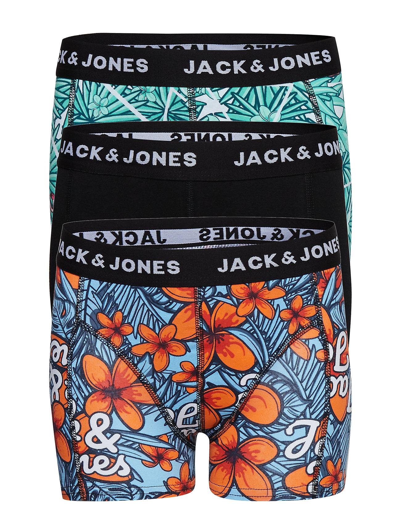 Jack & Jones JACTROPICANA TRUNKS 3 PACK JUNIOR