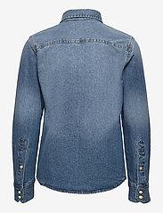 Jack & Jones - JJESHERIDAN SHIRT L/S JR - shirts - medium blue denim - 1