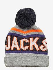 Jack & Jones - JACMAC TASSLE BEANIE JR - light grey melange - 0