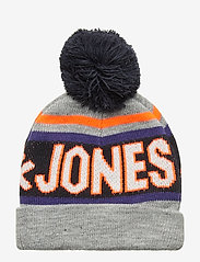 Jack & Jones - JACMAC TASSLE BEANIE JR - hatut - light grey melange - 1