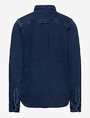 Jack & Jones - JJ30CPO SHIRT L/S JR - overhemden - dark blue denim - 1