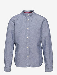 Jack & Jones - JJEBAND SUMMER SHIRT L/S JR - shirts - faded denim - 0