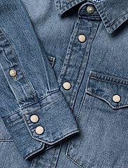 Jack & Jones - JJESHERIDAN SHIRT L/S JR - shirts - medium blue denim - 2