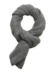 JACDNA KNIT SCARF JR - GREY MELANGE