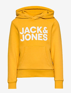 JJECORP LOGO SWEAT HOOD  NOOS JR - YOLK YELLOW