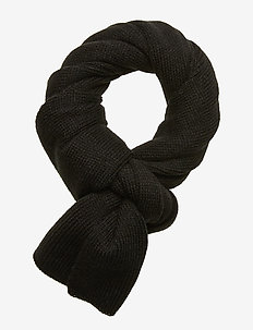JACDNA KNIT SCARF JR - BLACK