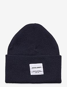 JACLONG KNIT BEANIE JR - kapelusze - navy blazer