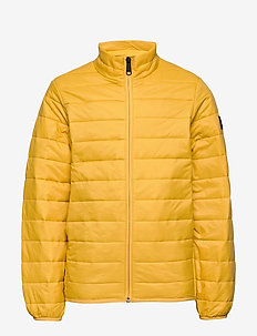 JJEERIC PUFFER COLLAR NOOS JR - puffer & padded - yolk yellow