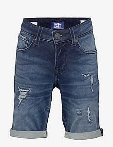 JJIRICK JJICON SHORTS GE 007 I.K STS JR - BLUE DENIM