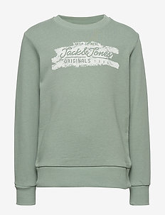 JORTORINO SWEAT CREW NECK FST JR - svetarit - green milieu