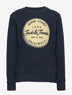 JORTORINO SWEAT CREW NECK FST JR - svetarit - navy blazer