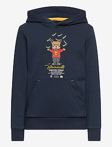 JORDENIMDOG SWEAT HOOD JR - hettegensere - navy blazer