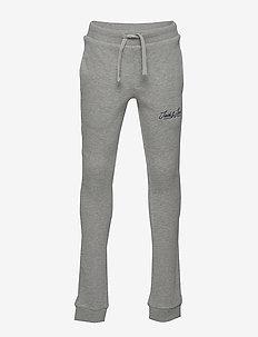 JORNOELS SWEAT PANTS JR - sweatpants - light grey melange