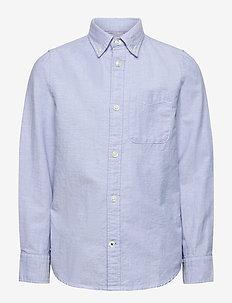 JJEOXFORD SHIRT L/S JR - skjorter - cashmere blue