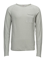 JORDONNY KNIT CREW NECK - MIRAGE GRAY