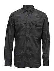 JORBATTLE SHIRT LS - DARK GREY