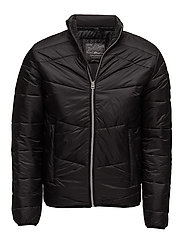 JORZOOM LIGHT PUFFER JACKET - BLACK