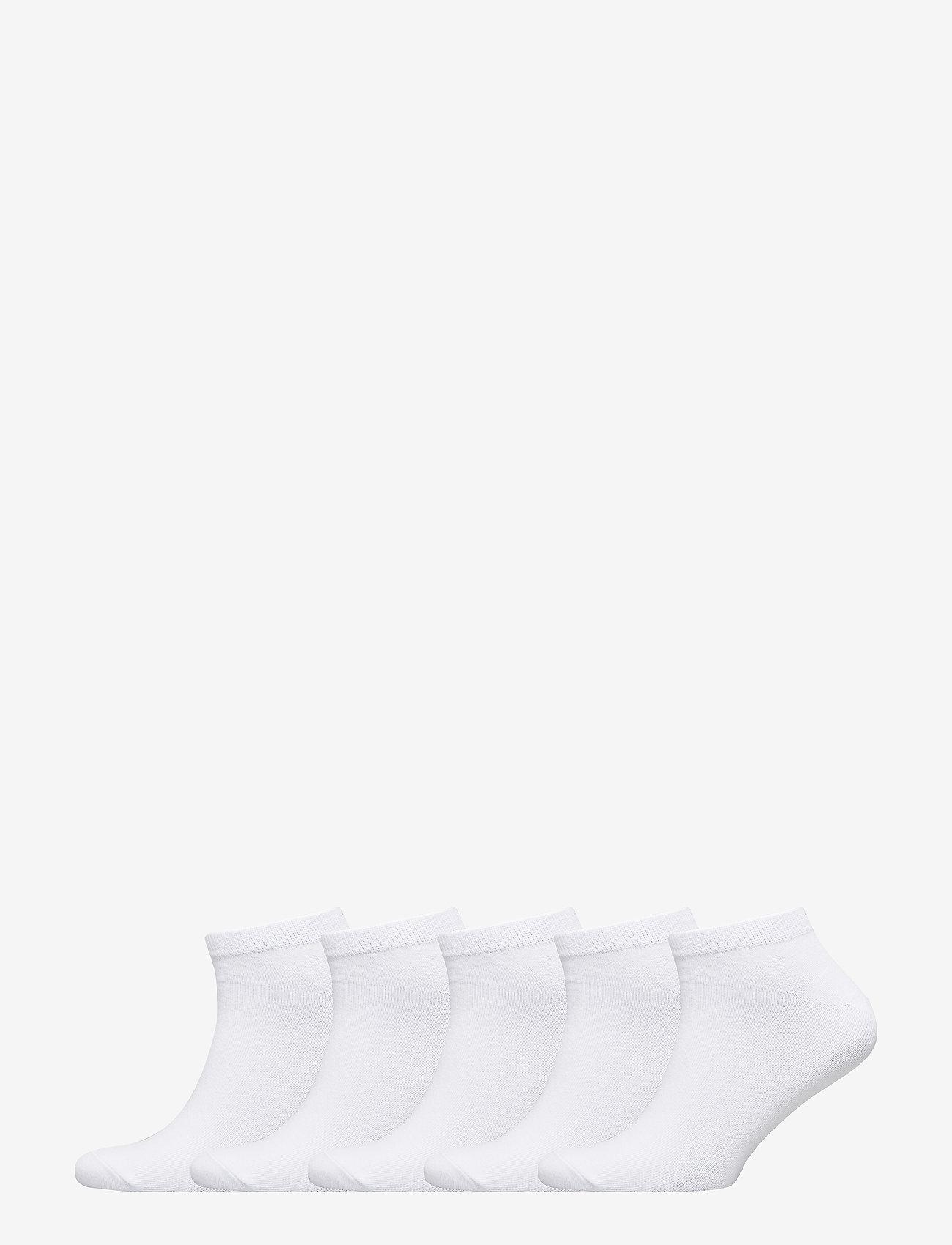 Jack & Jones - JACDONGO SOCKS 5 PACK NOOS - skarpety za kostkę - white - 0