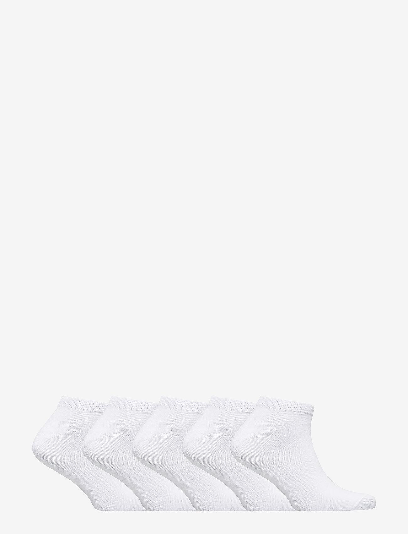 Jack & Jones - JACDONGO SOCKS 5 PACK NOOS - skarpety za kostkę - white - 1