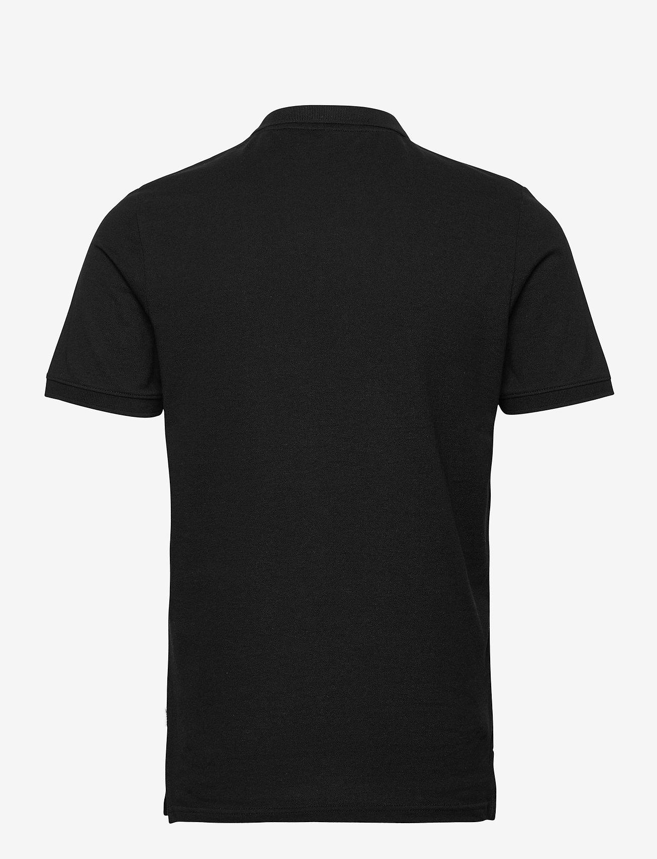 Jack & Jones - JJEBASIC POLO SS - short-sleeved polos - black - 1