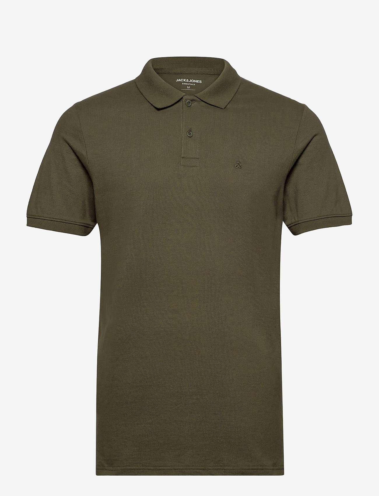 Jack & Jones - JJEBASIC POLO SS - short-sleeved polos - olive night - 0
