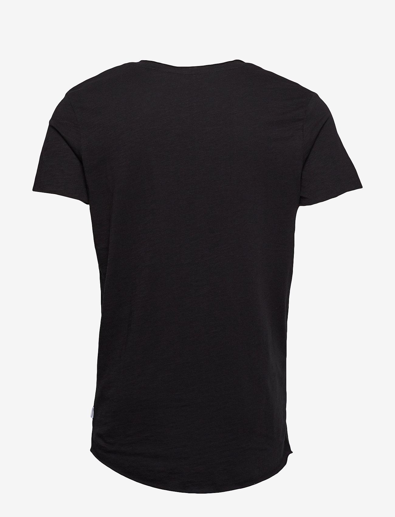Jack & Jones - JJEBAS TEE SS U-NECK NOOS - basic t-shirts - black - 1