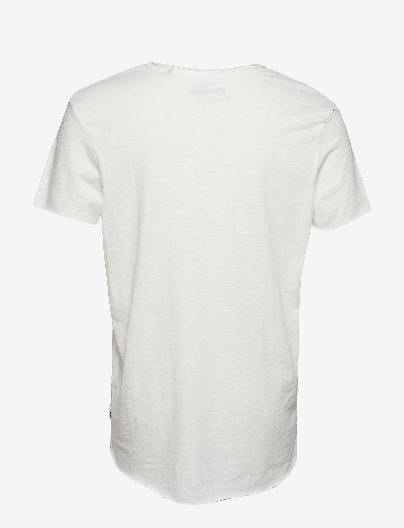 Jack & Jones - JJEBAS TEE SS U-NECK - basic t-shirts - cloud dancer - 1