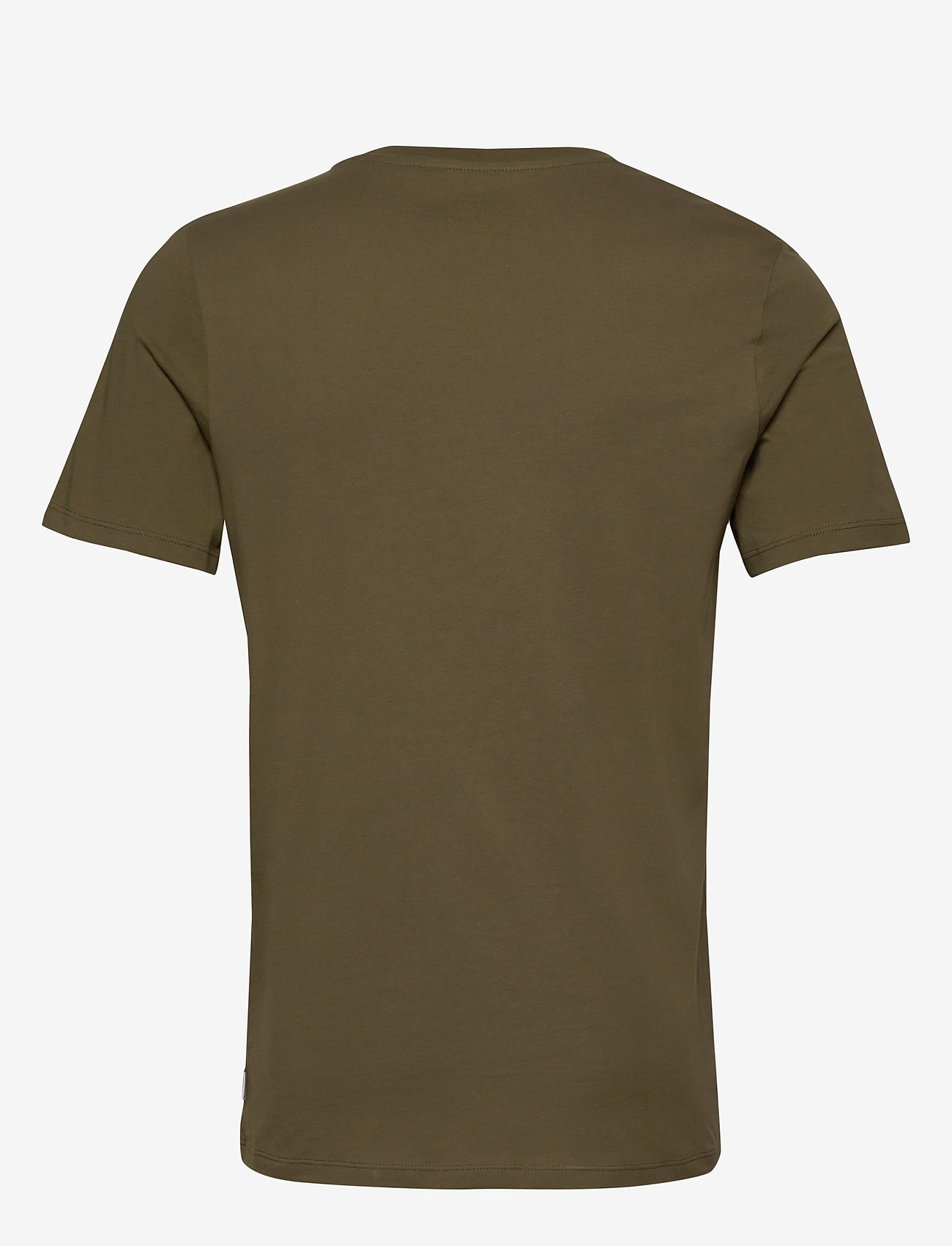 Jack & Jones - JJEPOCKET TEE SS O-NECK NOOS - basic t-shirts - olive night - 1
