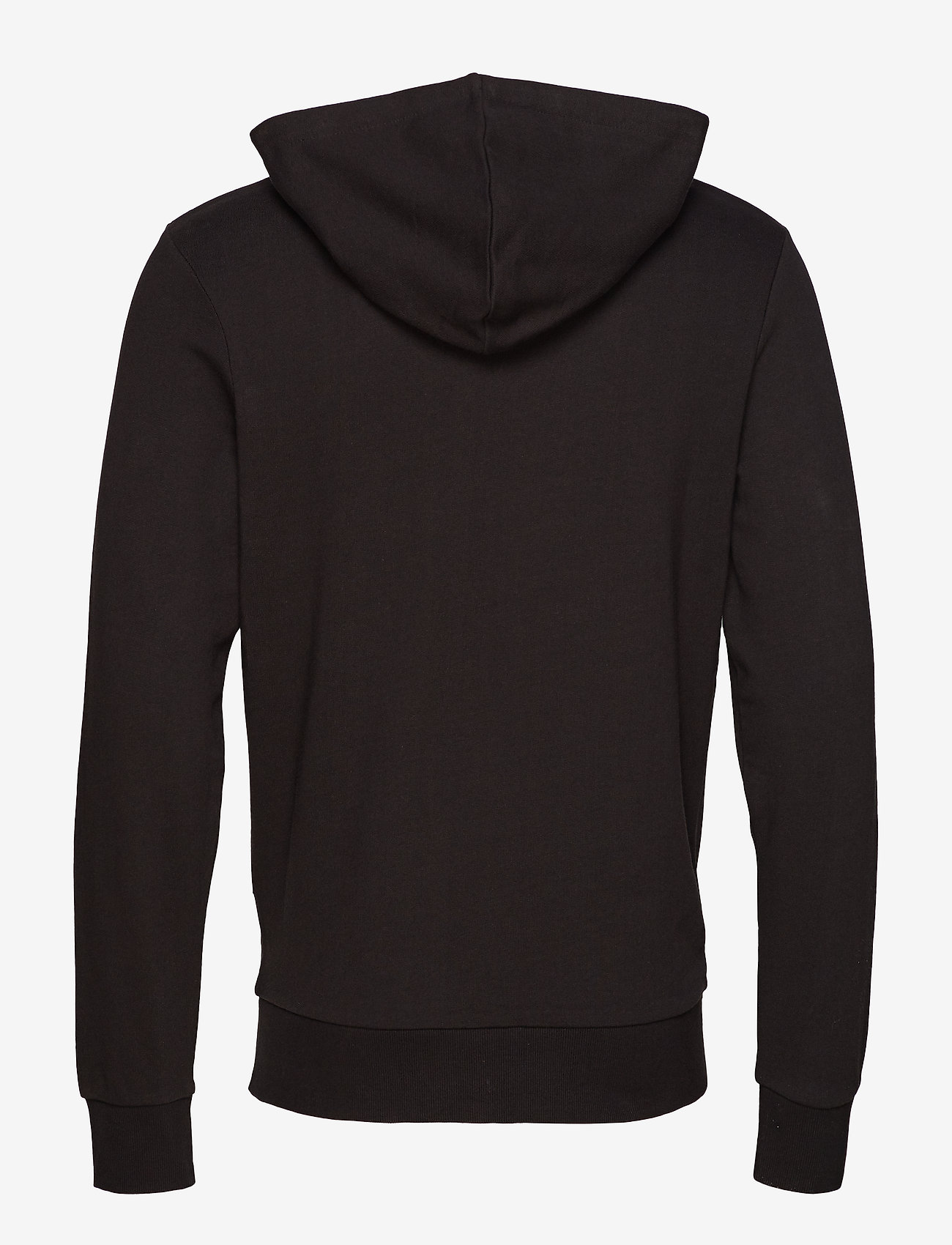 Jack & Jones JJEHOLMEN SWEAT ZIP HOOD NOOS - Sweatshirts BLACK - Menn Klær