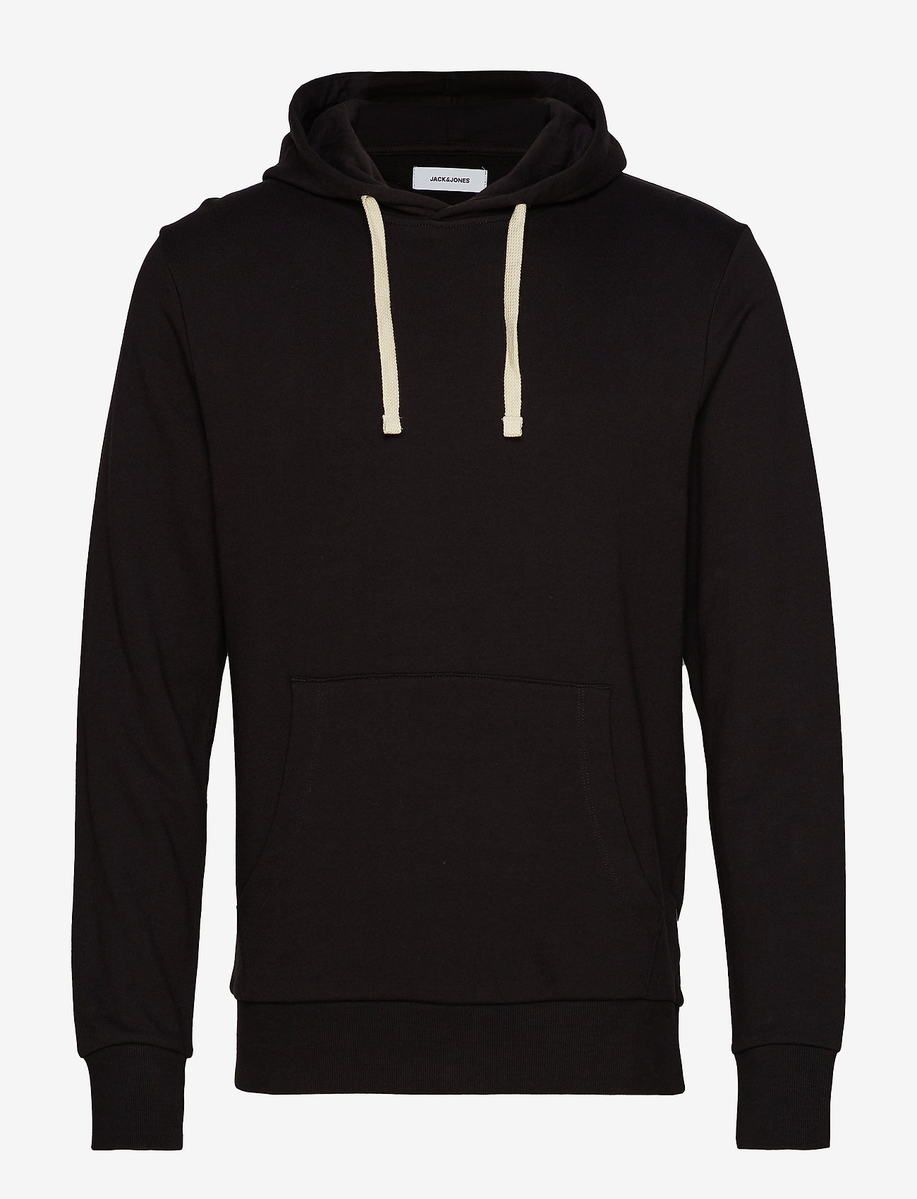 Jack & Jones - JJEHOLMEN SWEAT HOOD NOOS - basic sweatshirts - black - 0