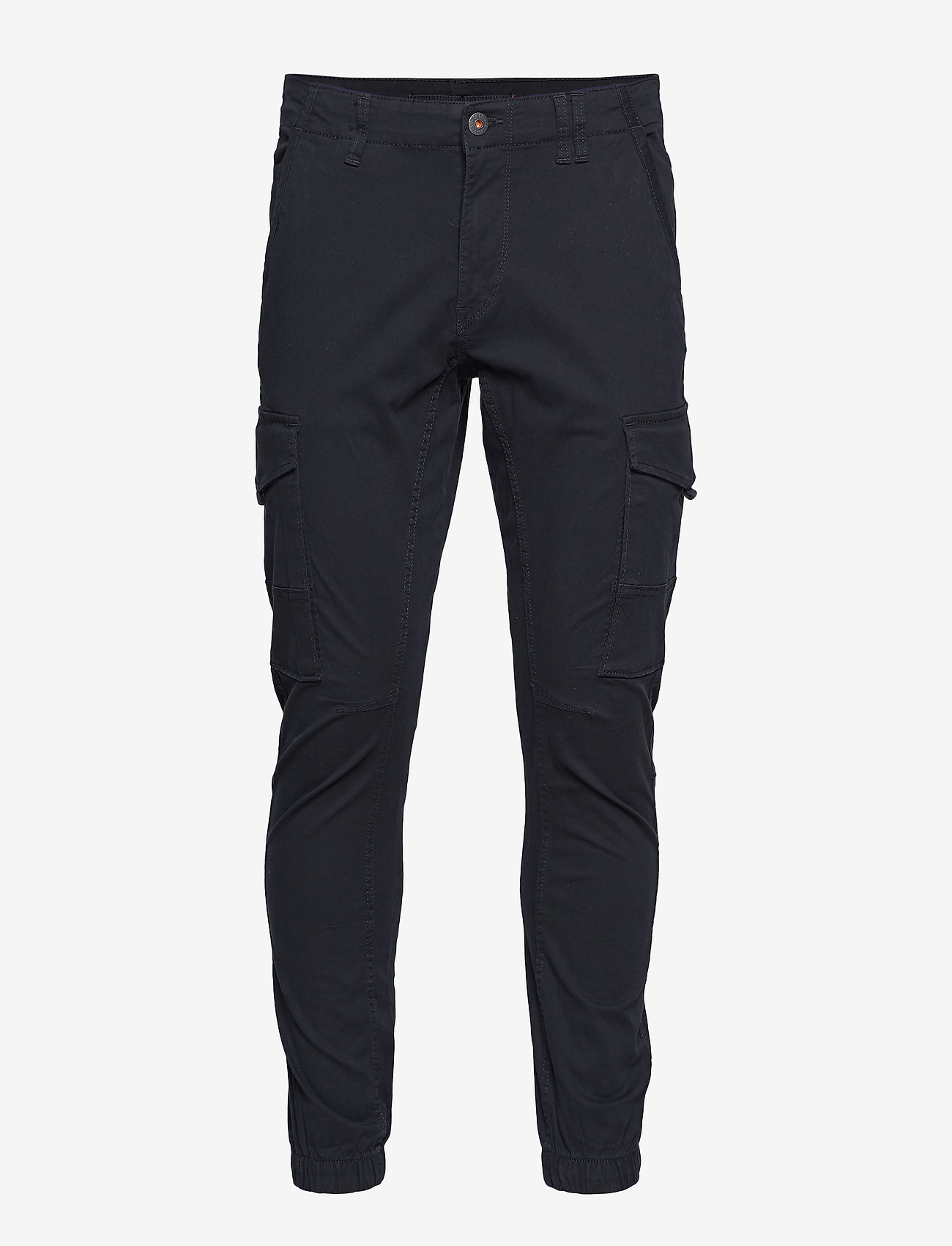 Jack & Jones - JJIPAUL JJFLAKE AKM 542 BLACK NOOS - cargo housut - black - 0