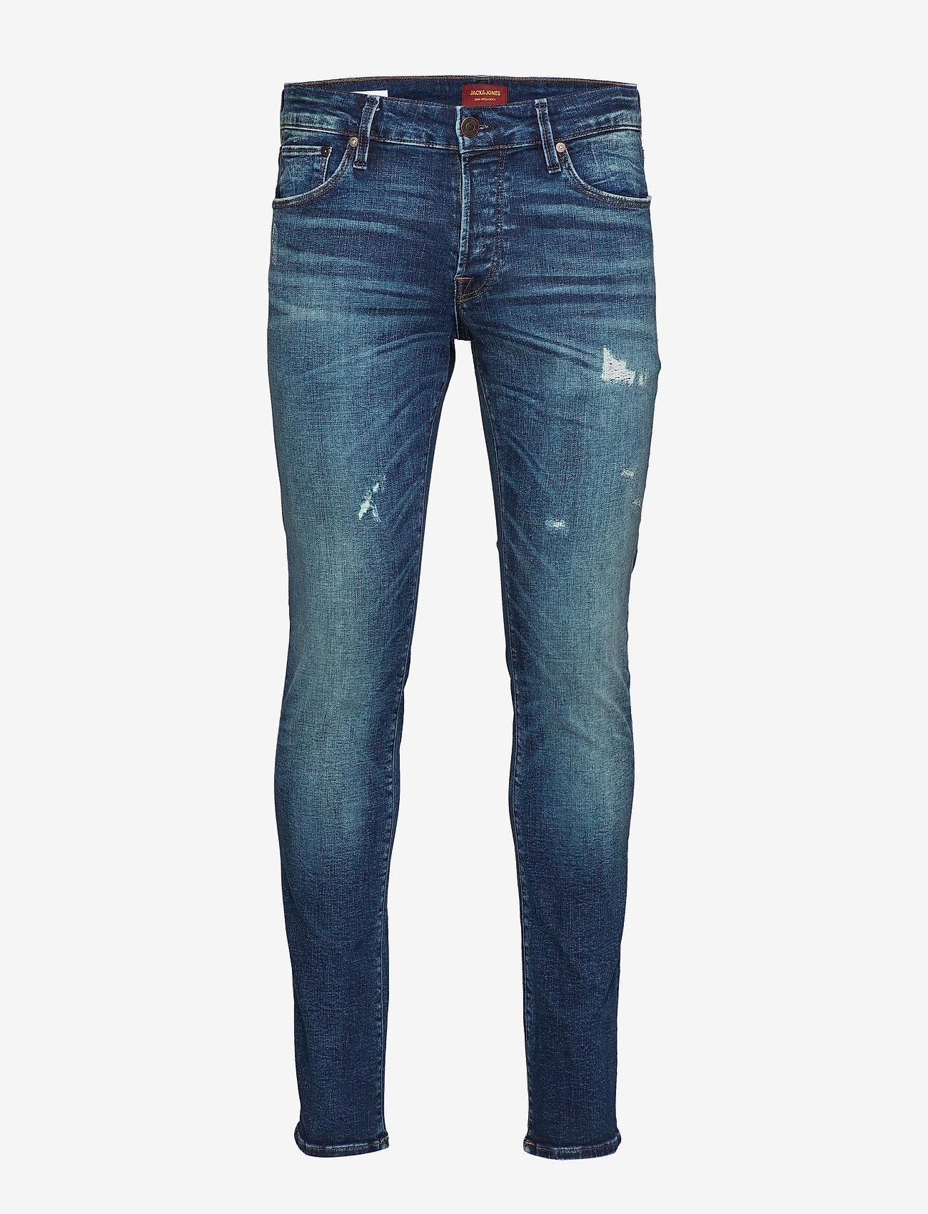 Jack & Jones - JJIGLENN JJICON JOS 424 50SPS NOOS - slim jeans - blue denim - 0