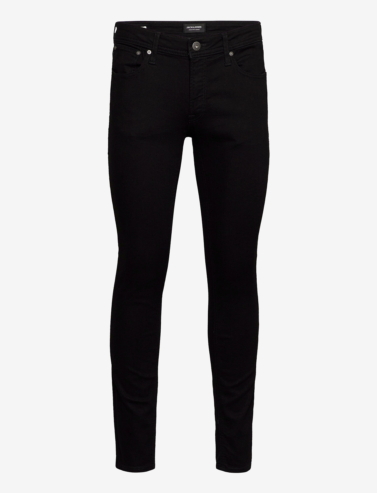 Jack & Jones - JJILIAM JJORIGINAL AM 816 NOOS - slim jeans - black denim - 0