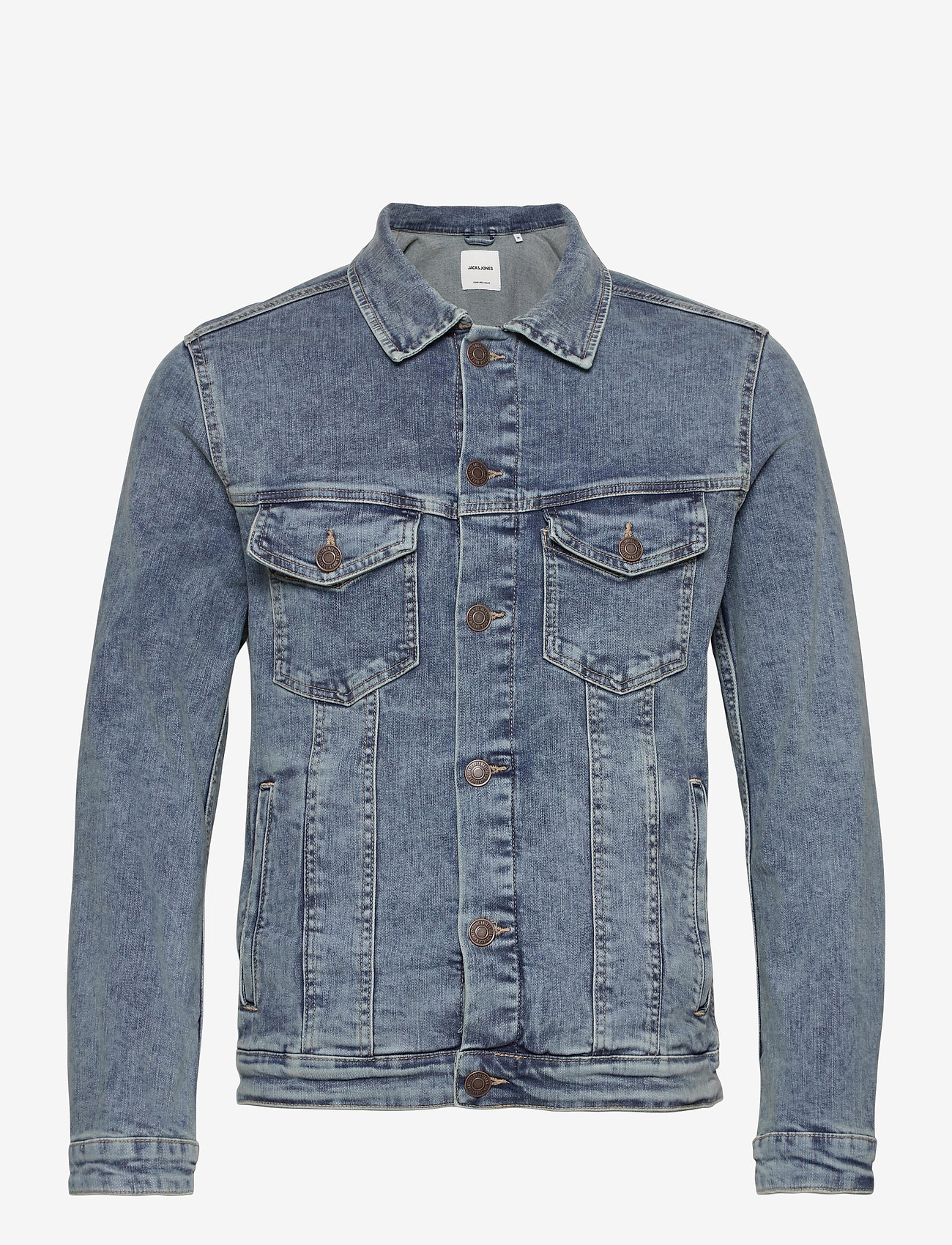 Jack & Jones - JJIALVIN JJJACKET SA 002 NOOS - farkkutakit - blue denim - 0