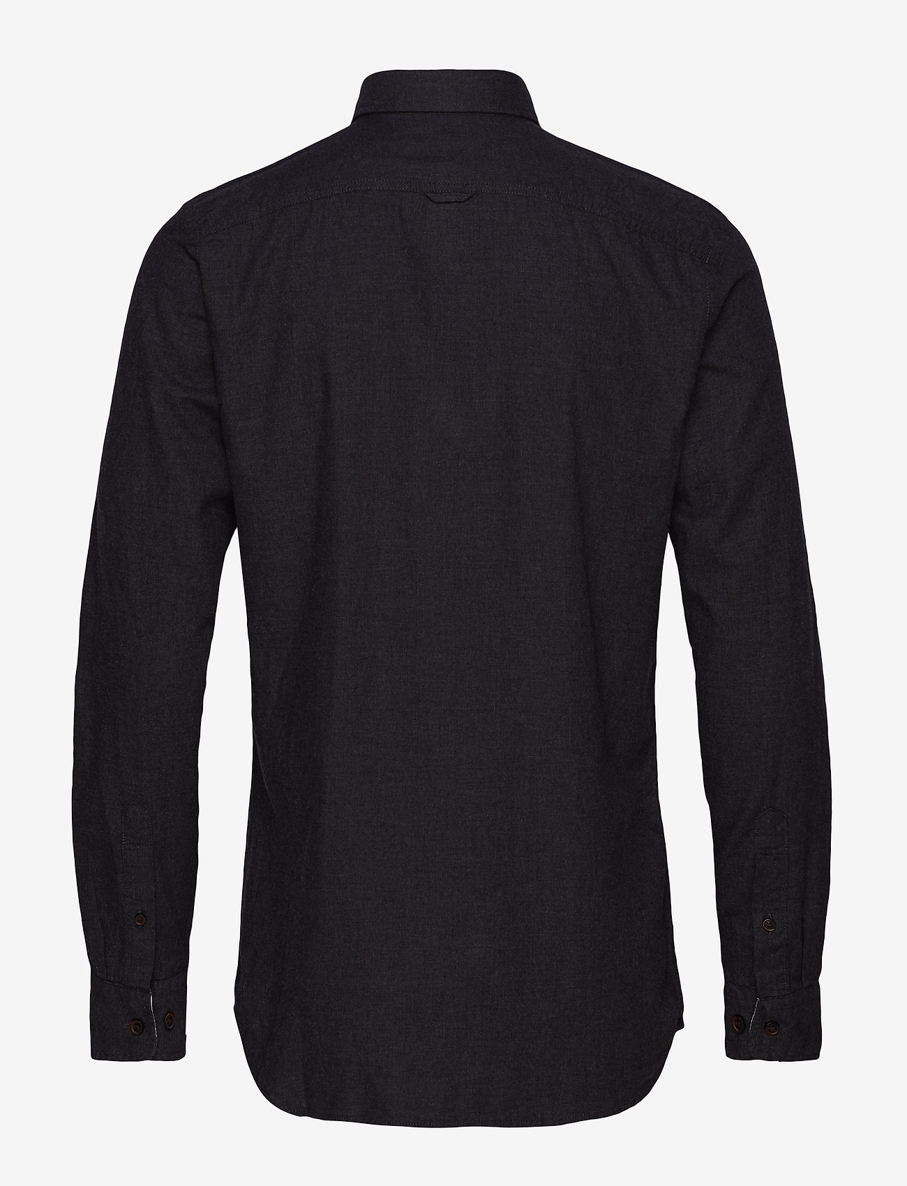 Jack & Jones - JJEMELANGE SHIRT L/S - casual skjortor - caviar - 1