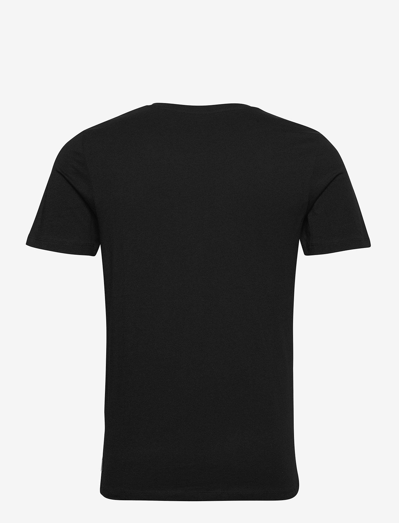 Jack & Jones - JJEORGANIC BASIC TEE SS O-NECK - basic t-shirts - black - 1