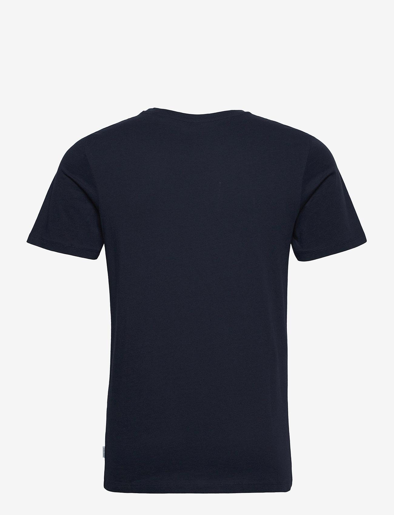 Jack & Jones - JJEORGANIC BASIC TEE SS O-NECK - basic t-shirts - navy blazer - 1