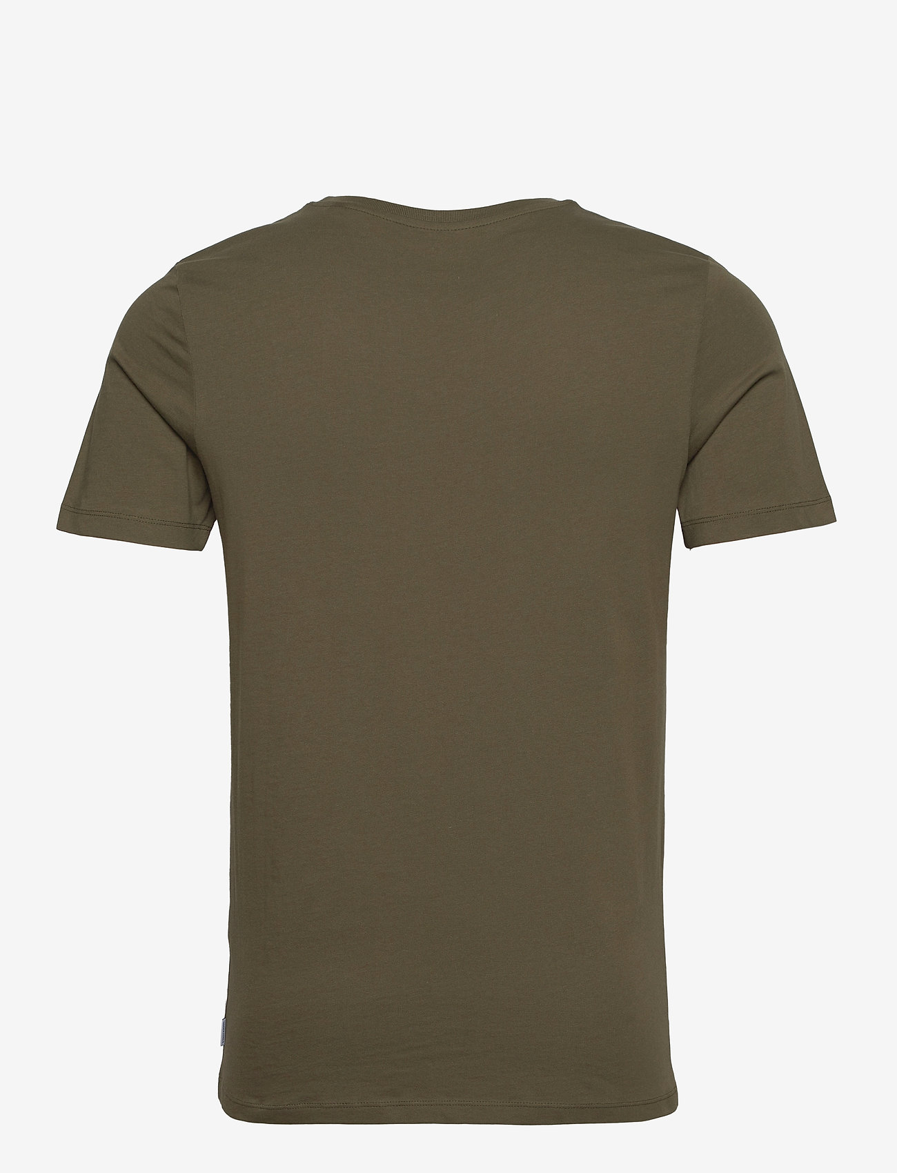 Jack & Jones - JJEORGANIC BASIC TEE SS O-NECK - basic t-shirts - olive night - 1