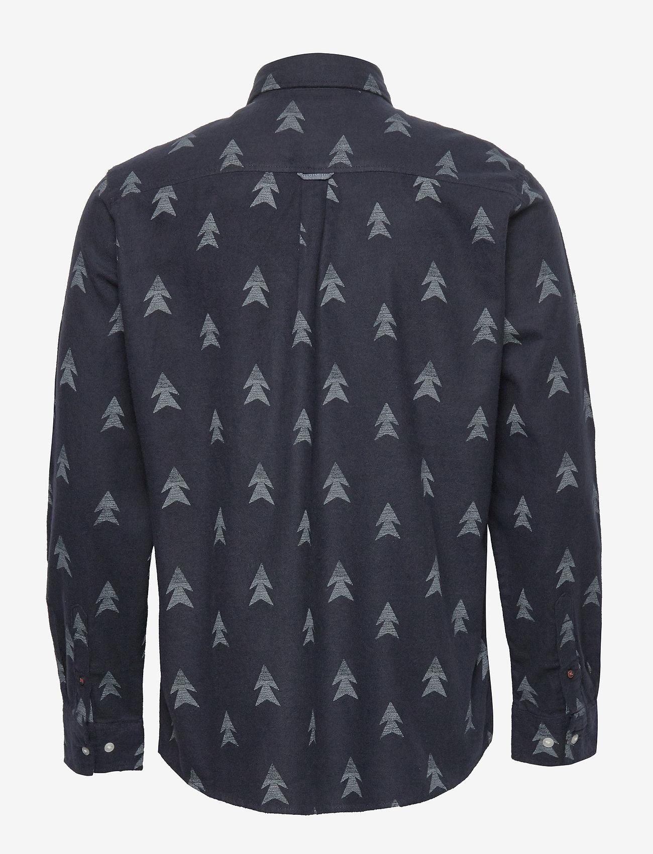 Jack & Jones - JORDREW SHIRT LS - casual skjortor - navy blazer - 1