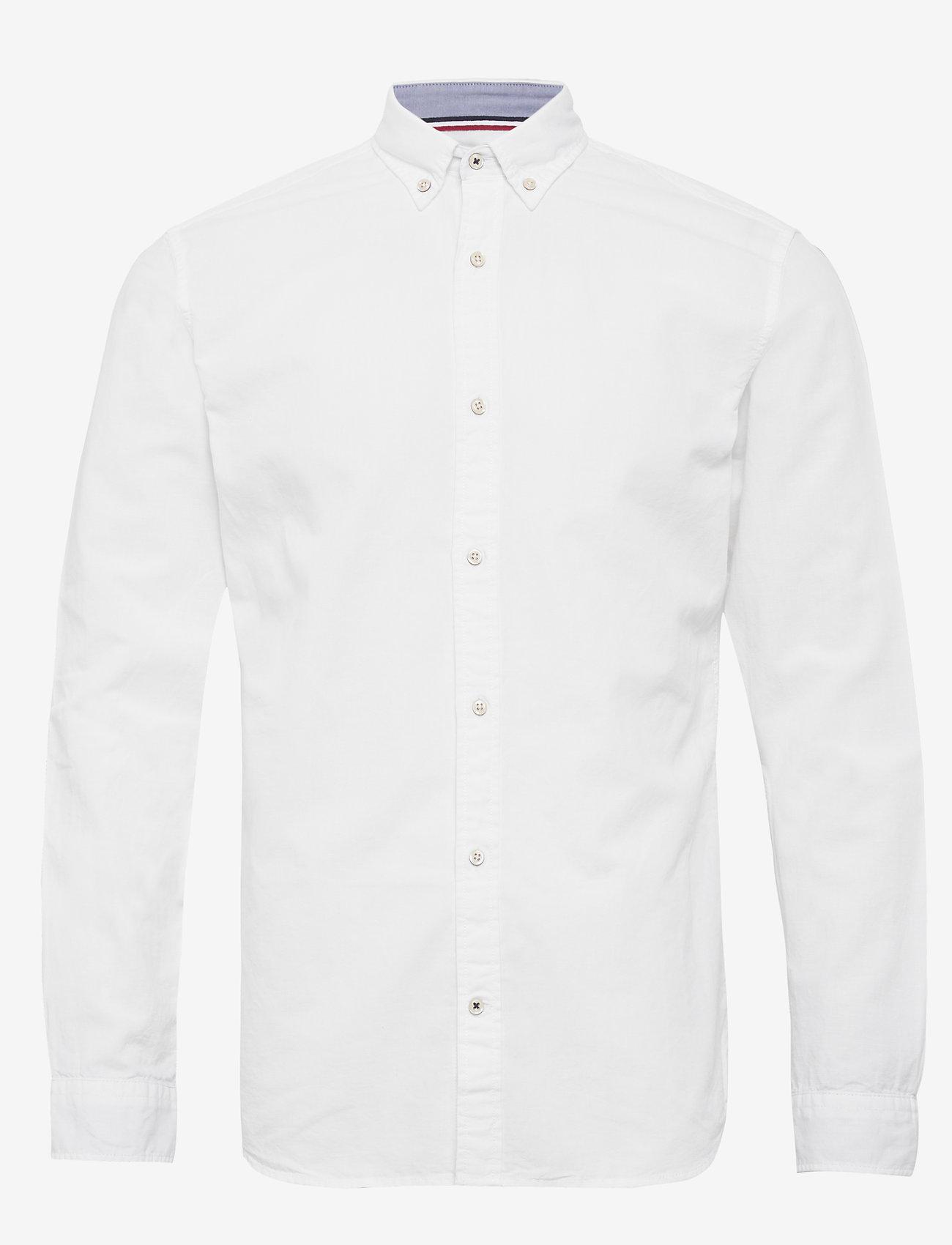 Jack & Jones - JJESUMMER SHIRT L/S S21 STS - basic skjortor - white - 0